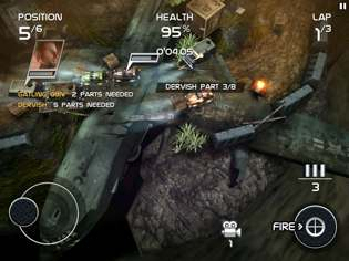 death rally 1 Death Rally Review For iPhone and iPad   Because Racing Is Much More Fun With Guns