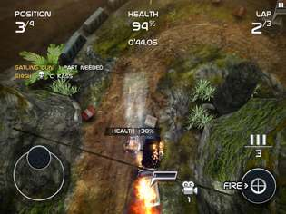 death rally 3 Death Rally Review For iPhone and iPad   Because Racing Is Much More Fun With Guns