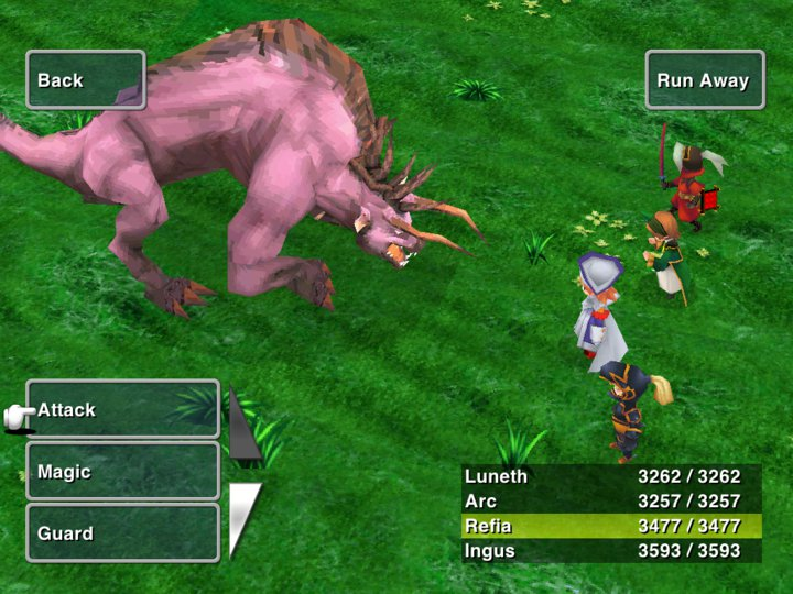 final fantasy iii ipad Final Fantasy III iPad Version Coming April 21