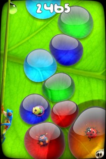 liqua pop 1 Liqua Pop Review   Great Looking Matching Game For Casual Fun On Your iPhone