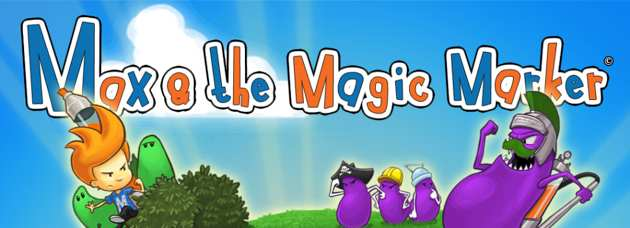 max and the magic marker header Max and the Magic Marker Review   A Creative Platformer