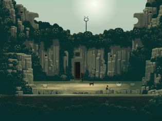 sword sworcery 31 Superbrothers: Sword & Sworcery EP Review For iPad   An Audio Visual Experience Unlike Anything Before