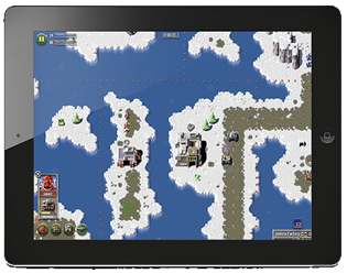 z ipad 3 Bitmap Brothers Z   First iPad Screenshots Of The RTS Remake